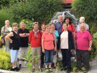 Obermettinger Senioren im Japanischen Garten in Bonndorf